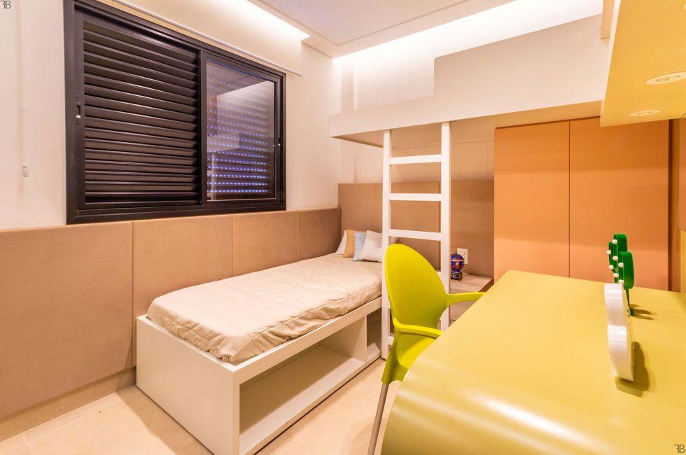 Apartamento Quarto Infanto-juvenil
